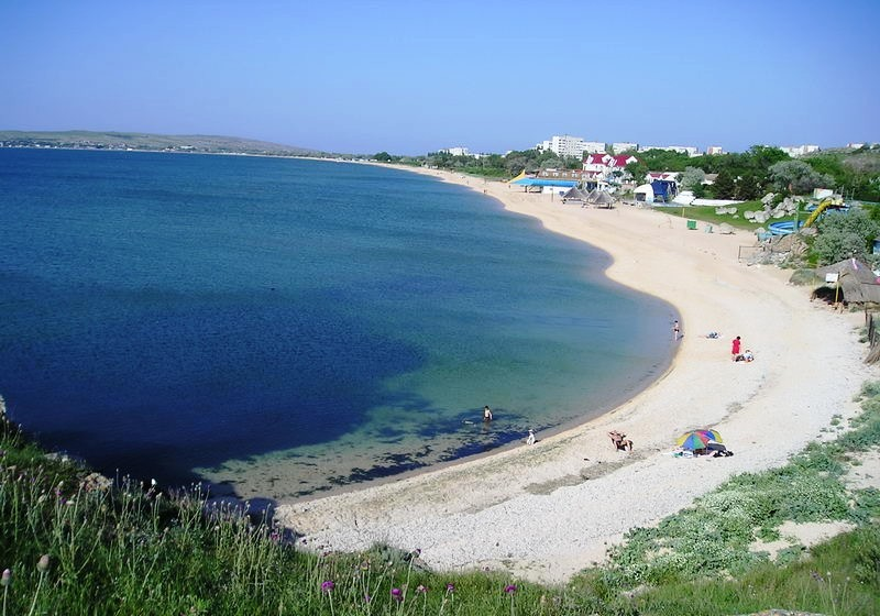 Щелкино Азовское море