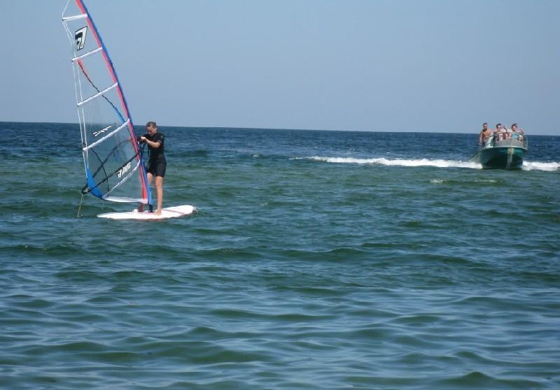 Серфинг в Крыму в Щелкино